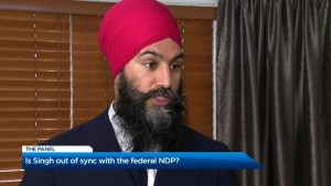 The Panel: Is Jagmeet Singh out of sync with the federal NDP; And who wants booze for brunch?