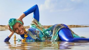 Halima Aden becomes first model to wear burkini, hijab in Sports Illustrated Swimsuit edition
