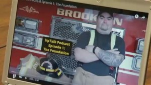 Former first responder receives national award for PTSD podcast