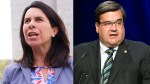 Plante and Coderre campaigning in earnest ahead of Sunday election