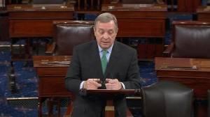 US Senator Dick Durbin sends message of support to France on Senate floor