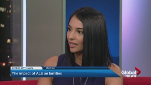 Living with ALS- How families and friends come together to help people living with the disease