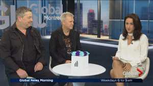 Glass Tiger tours Quebec
