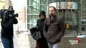 Calgary couple found guilty in son's death address court for the first time