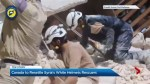 White Helmets and their families rescued from Syria