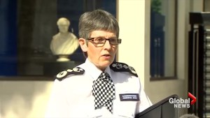 """London police chief commends """"extraordinary"""" courage of officers and victims"""