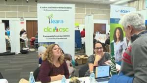 Brossard Fair showcases bilingual health services (02:18)