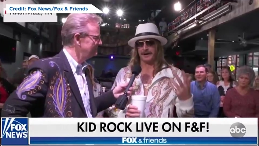 Kid Rock comes under fire for calling Joy Behar a 'b****'