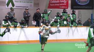 'A' league minor lacrosse helping to grow game in Saskatchewan