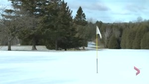 Golf season stalled due to weather