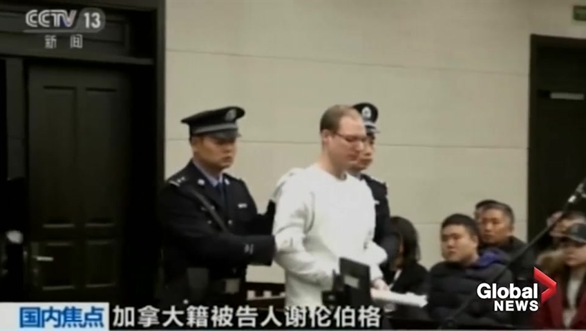 Death sentence heightens China, Canada tensions