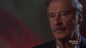 """Vicente Fox offers advice to Justin Trudeau on negotiating with """"stupid"""" Donald Trump on NAFTA"""