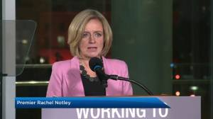 Alberta Premier Rachel Notley orders oil production cut