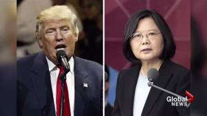 Controversy looms over phone call between Trump and the President of Taiwan