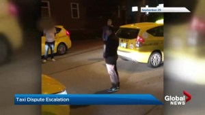 Allegations of intimidation after taxi driver confrontation