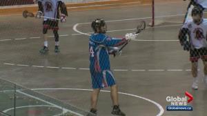 Global Edmonton MVP Jace Asay a rising lacrosse star