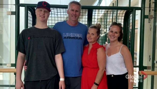 'Dad, we did it': Oshawa Generals prospect finishes chemotherapy — and is ready for the next step