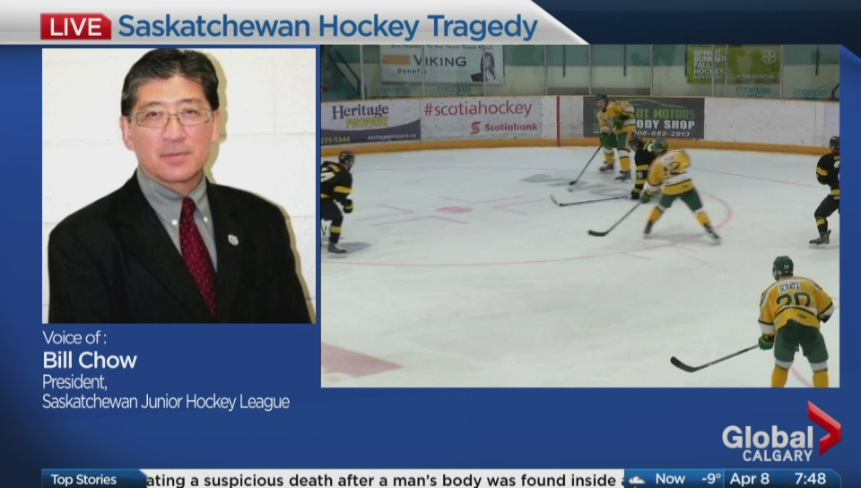 SJHL announces support program for players in wake of Humboldt Broncos tragedy