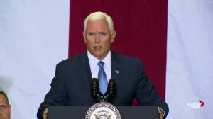Going to moon 'an American choice': Pence remarks on 50th anniversary of moon landing