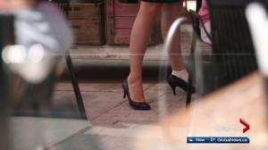 Edmonton restaurant owner calls for footwear policy change