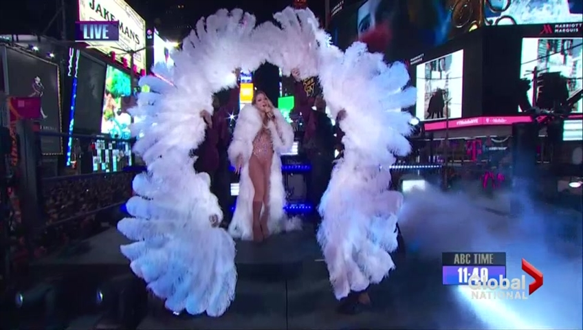 Mariah Carey redo headlines Dick Clark's New Year's Rockin' Eve