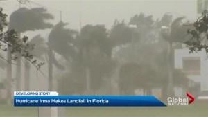 Hurricane Irma roars ashore in Florida