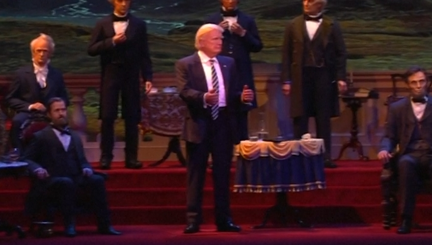 Disney's Hall of Presidents Is Trying to Make Trump Look Bad