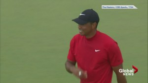 Tiger Woods claims 15th major with Masters win