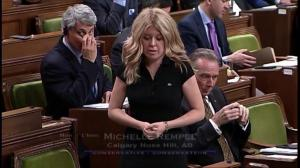 Michelle Rempel says government playing 'shell game with human beings'