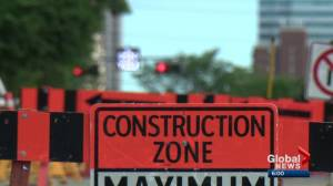 Edmonton traffic impacted by construction season