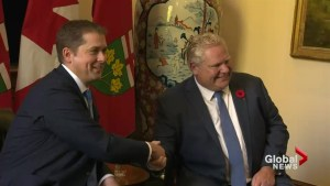 Three's Company:  Trudeau, Ford and Scheer