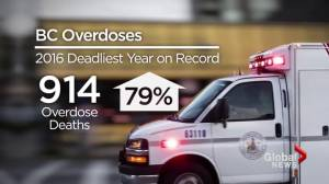 B.C. overdose crisis: The escalation