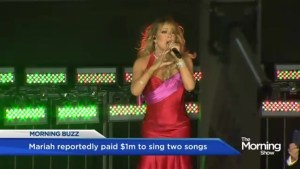 Why Mariah Carey was paid a million for 5 minutes of work