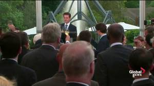 Mexican president toasts Justin Trudeau at state dinner at Casa Loma