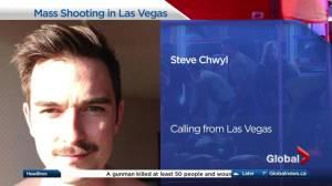 Calgarian in Las Vegas describes leaving concert before mass shooting