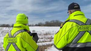 First responders test drones to assist emergency calls