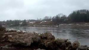 Rivers around Miramichi continue to rise, wash out roadways