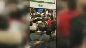 GO Transit passengers frustrated after overcrowding at Union Station