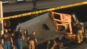 Officials from school board react to news their students were involved in bus crash