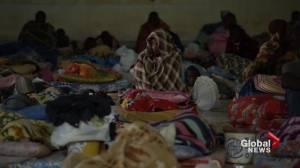 "Women and children migrants living in ""hellholes"": UNICEF"