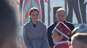 Prince William and Kate given performance at Carcross Commons in Yukon