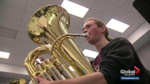 Calgary tuba players attempt to break world record