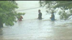 5 dead after torrential rains flood Texas