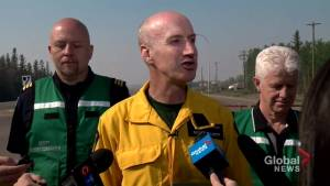 Officials provide update on High Level fire, says wind change could create increased danger