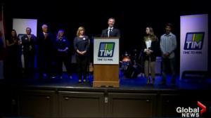 PC Leadership Candidate Tim Houston