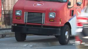 Motorists frustrated with delivery trucks making their own parking spots