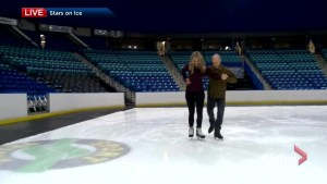 Kurt Browning and Ciara Yaschuk figure skating