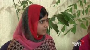 Malala Yousafzai advocating recovery of kidnapped Nigerian girls