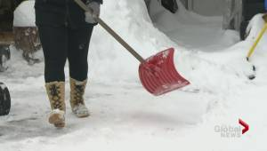 Okanagan residents warned to use proper shovelling  techniques to avoid back injuries.