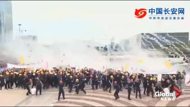 China to Hong Kong protesters: Do not 'mistake restraint for